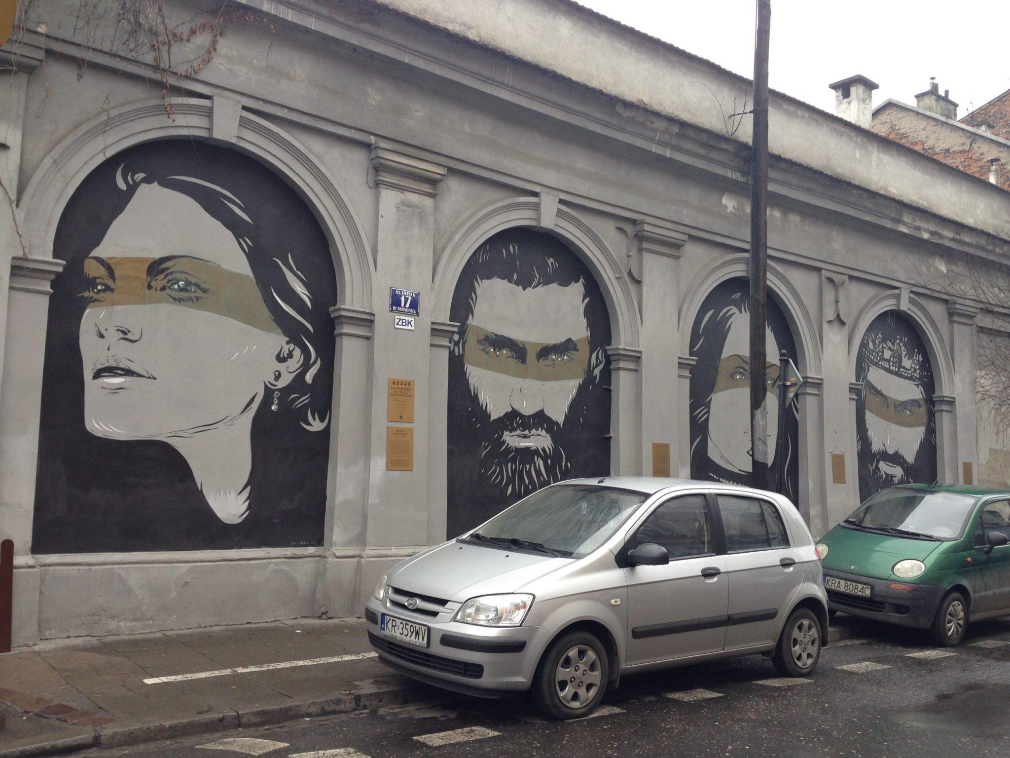 street art Krakau
