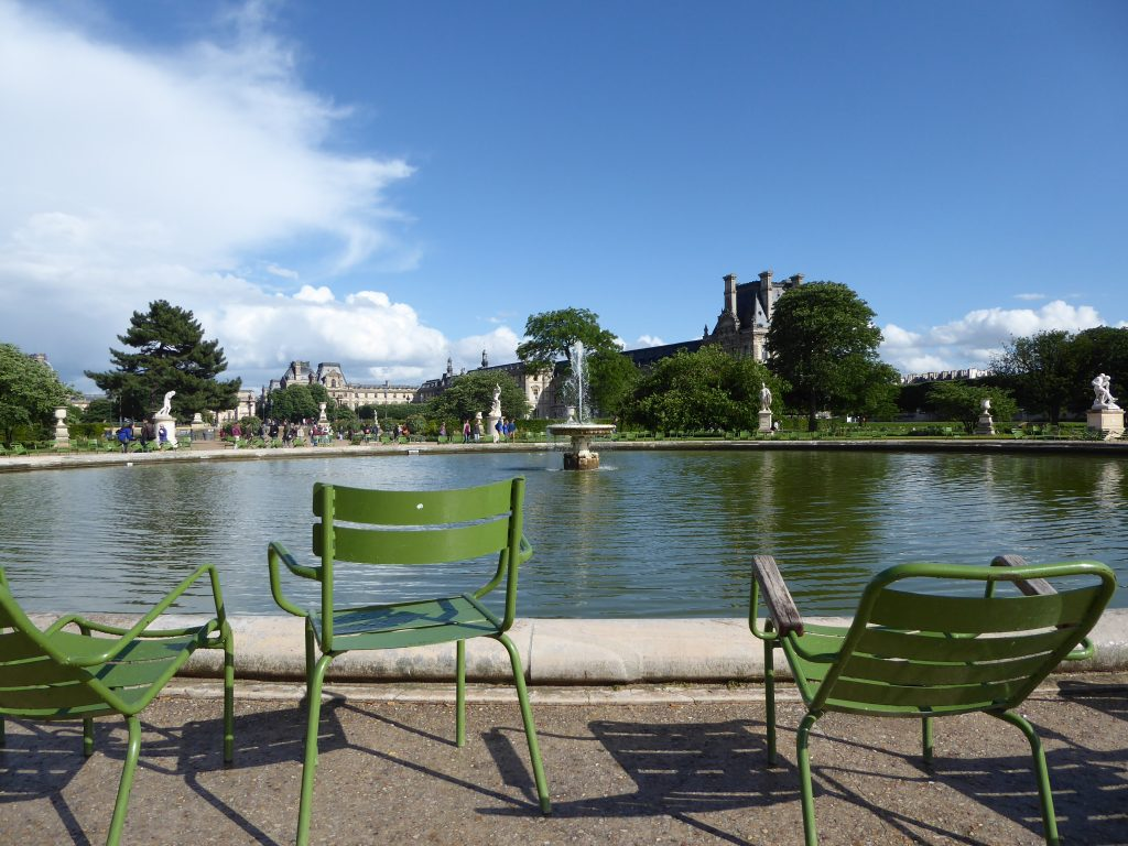 Parijs Jardin des Tuileries