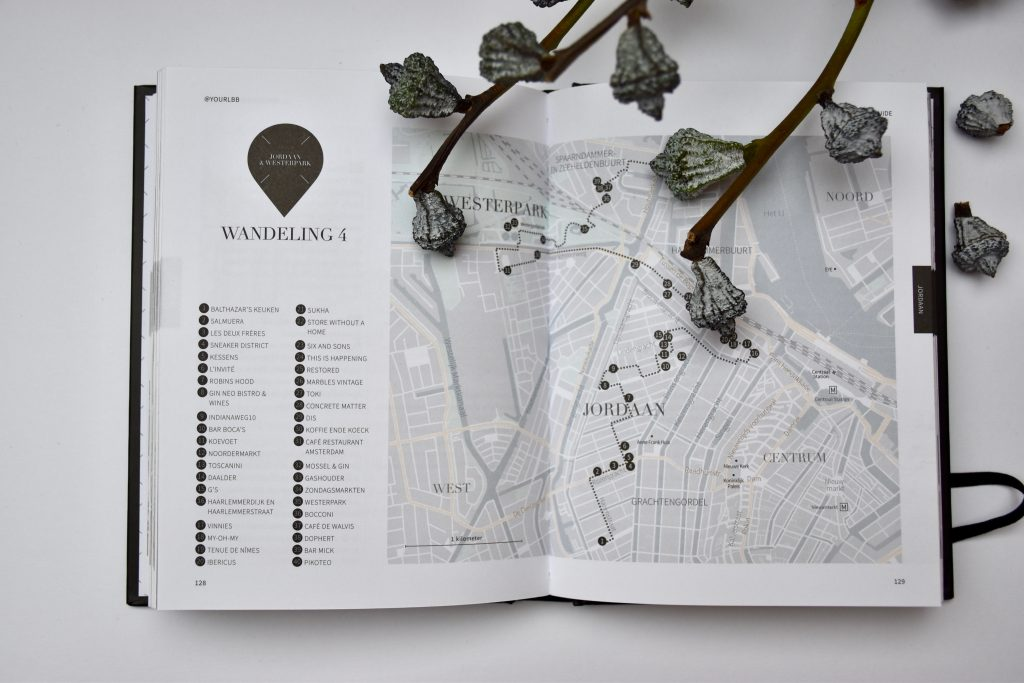 Wandelroute Amsterdam City Guide