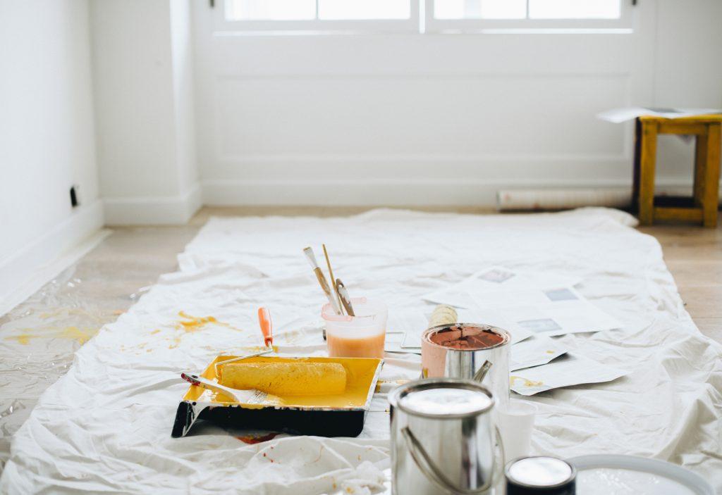 kleuren voor je huis uit te zoeken