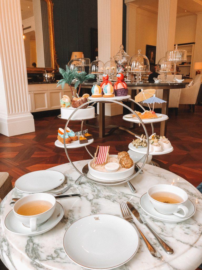 Tray high tea Waldorf