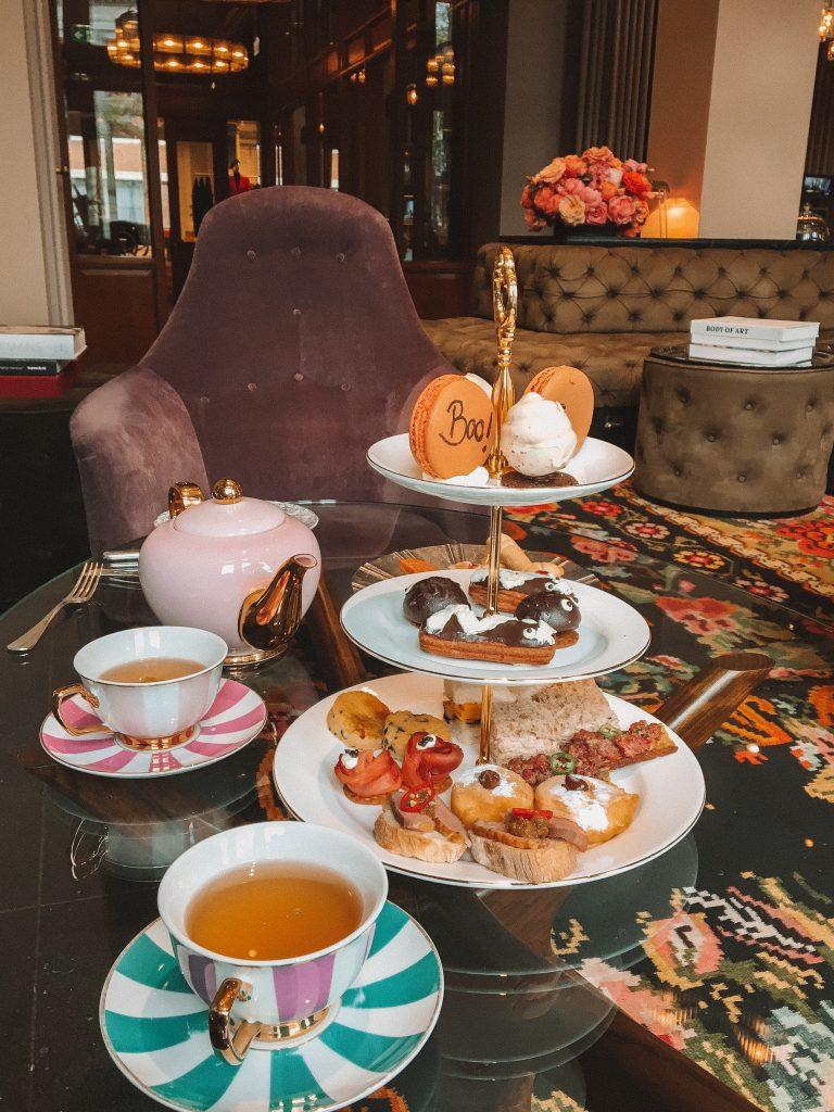 High tea The Duchess Amsterdam